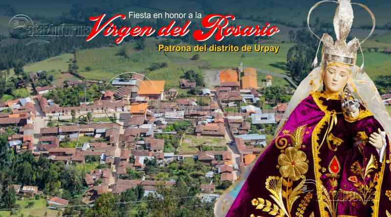 URPAY | Fieles devotos celebrarán festividad en honor a la Virgen del Rosario