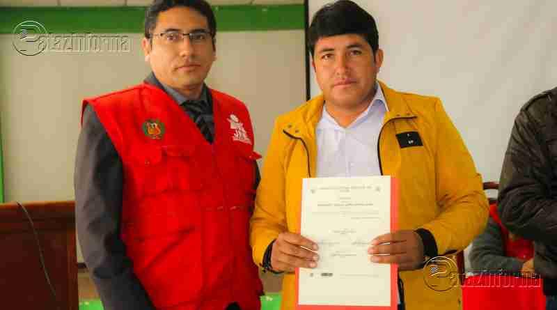 CHALLAS | JEE de Pataz acreditó a Alcalde y Regidores gestión 2019 – 2022