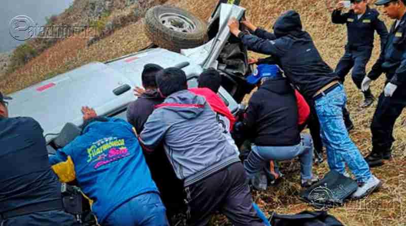 LA LIBERTAD | Conductor fallece tras caer a un abismo en el ande liberteño