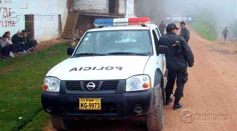 PATAZ | Roban camión con 25Tn de mineral que era trasladado hacia Trujillo