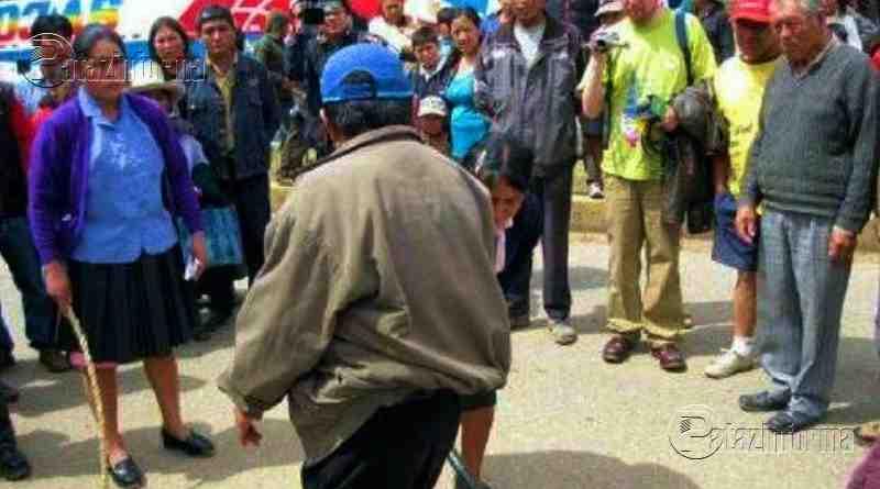 LA LIBERTAD | Ronderos castigan a pareja acusada de infidelidad en el ande