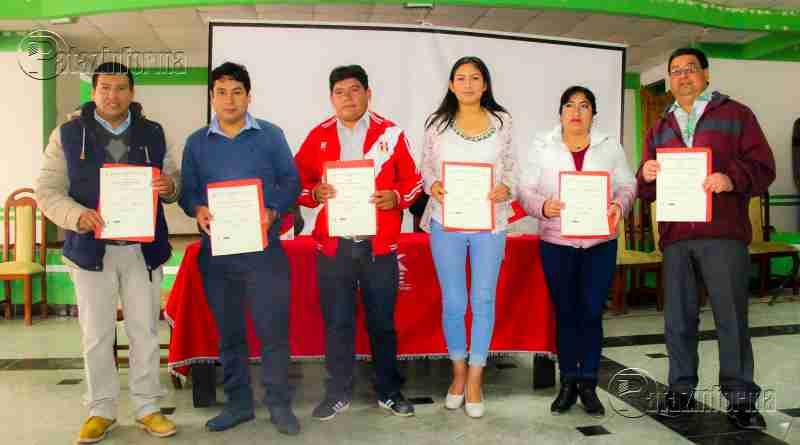 PARCOY | Alcalde y Regidores reciben credenciales para periodo 2019 – 2022
