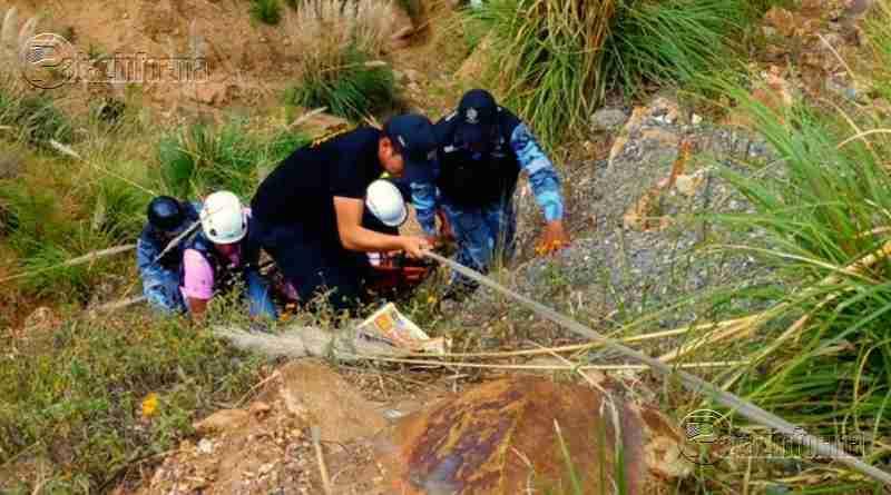 PARCOY | Nuevo accidente de tránsito dejó como saldo una persona herida