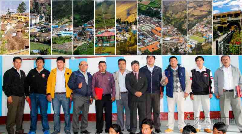 PATAZ | Autoridades se reúnen y comprometen a trabajar por sus distritos