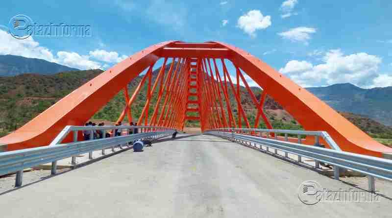 TAYABAMBA | Ultiman detalles para la entrega del puente Antonio Raimondi
