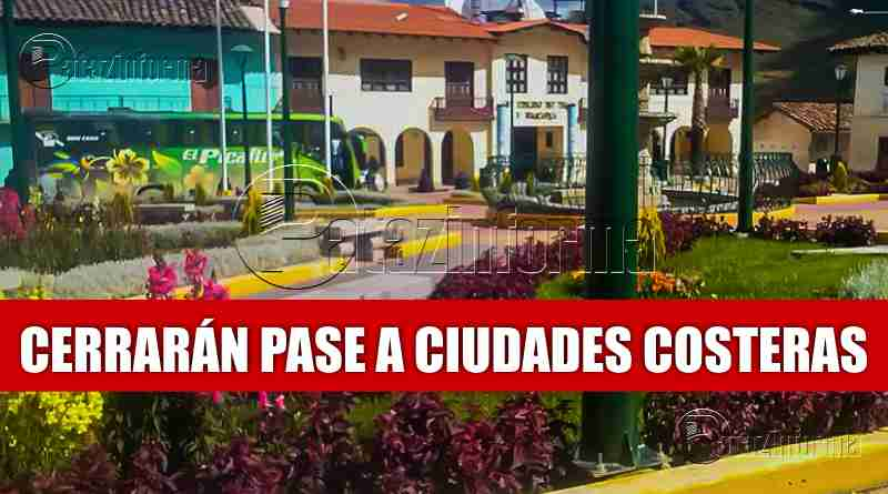 HUANCASPATA | No habrá pase de Tayabamba hacia la Costa por 20 días