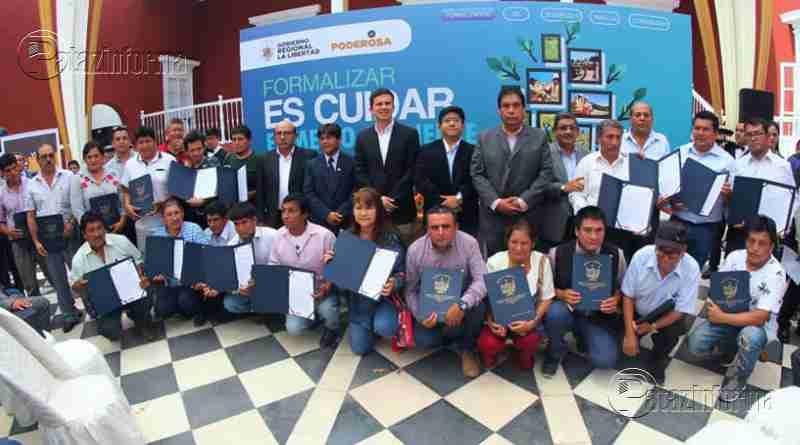 LA LIBERTAD | Más de 30 mineros artesanales de Pataz fueron formalizados
