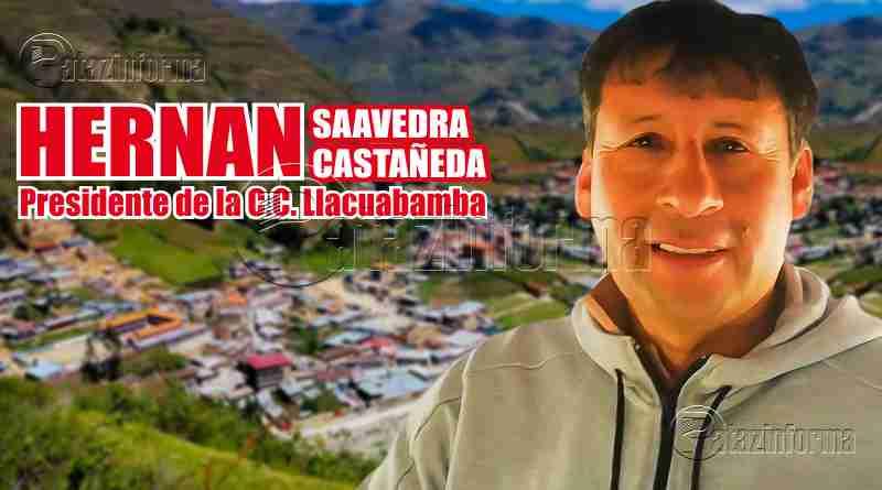 PARCOY | Hernán fue reelegido como presidente de la C.C. Llacuabamba