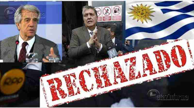 PERÚ | Gobierno de URUGUAY RECHAZÓ pedido de ASILO de Alan García