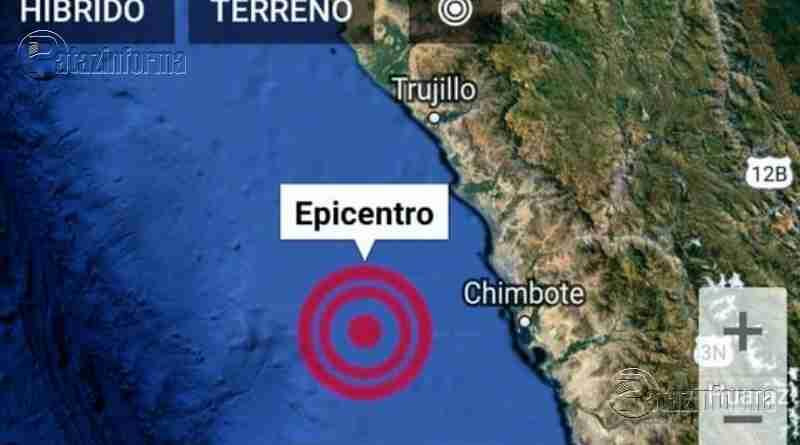 ANCASH | Fuerte temblor con epicentro en Chimbote se sintió en Trujillo