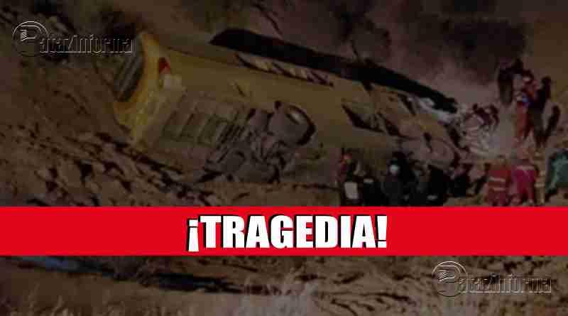 AREQUIPA | Terrible accidente de tránsito deja 13 fallecidos y 40 heridos