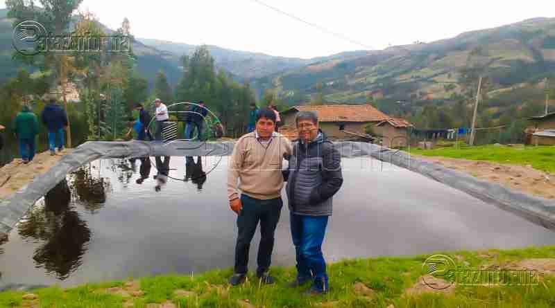CHALLAS | Alcalde gestiona proyecto para mejorar el agro en su distrito