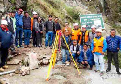 PARCOY | Colocan primera piedra para proyecto de agua y alcantarillado