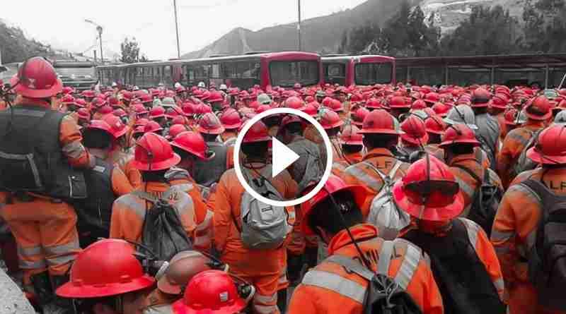 PARCOY | Sindicato de trabajadores de MARSA inició huelga indefinida