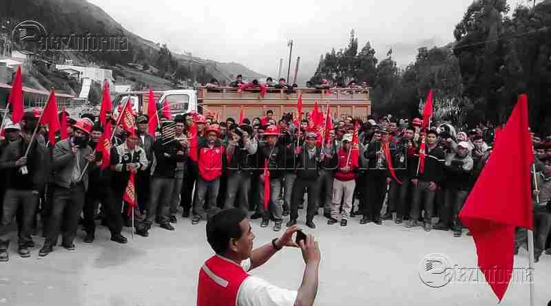 PARCOY | Sindicato de trabajadores MARSA anuncian huelga indefinida