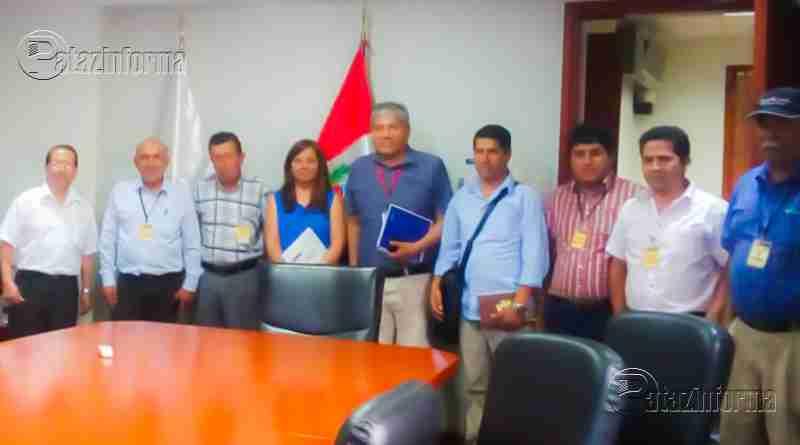 PATAZ | Autoridades patacinas se reunen con Ministro del MTC en Lima