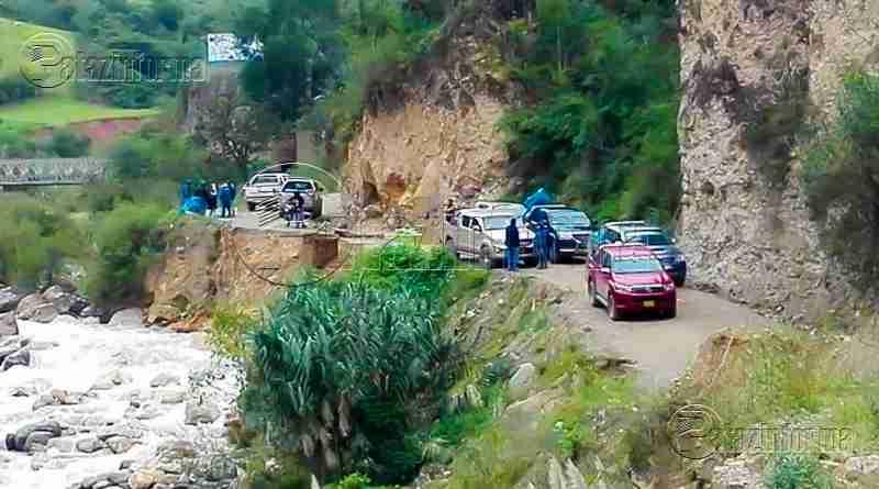 PATAZ | Vía nacional Tayabamba – Retamas lleva seis días interrumpida