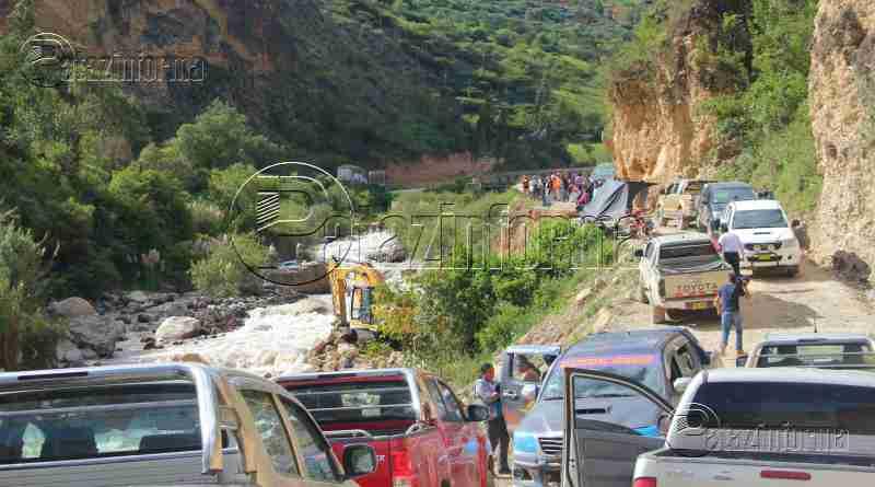 PATAZ | Habilitan pase en la carretera nacional Tayabamba – Retamas