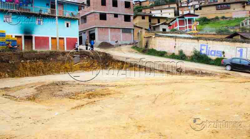 TAYABAMBA | Comuna patacina habilitará 02 playas de estacionamiento