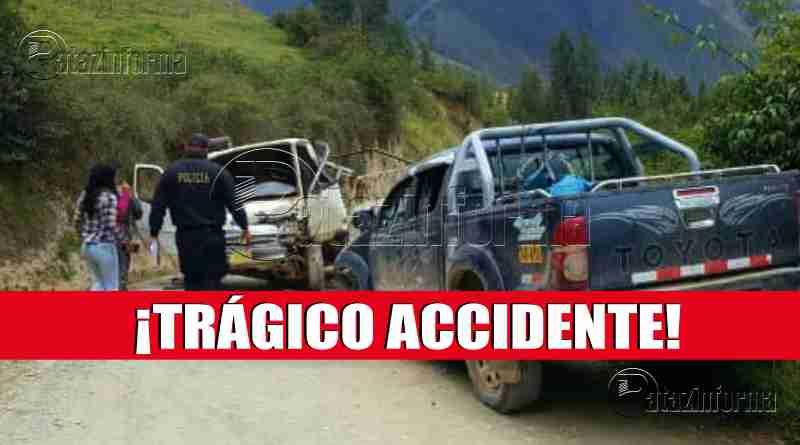 TAYABAMBA | Fatal accidente de tránsito deja un muerto y cuatro heridos