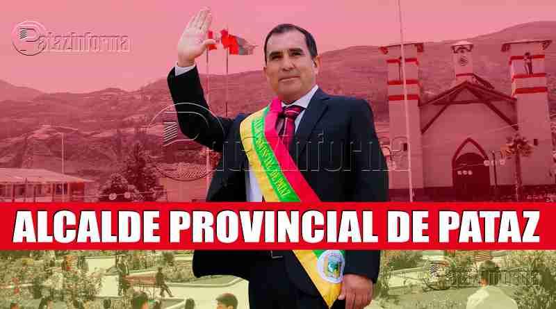 TAYABAMBA | Profesor Omar juramentó como alcalde provincial de Pataz