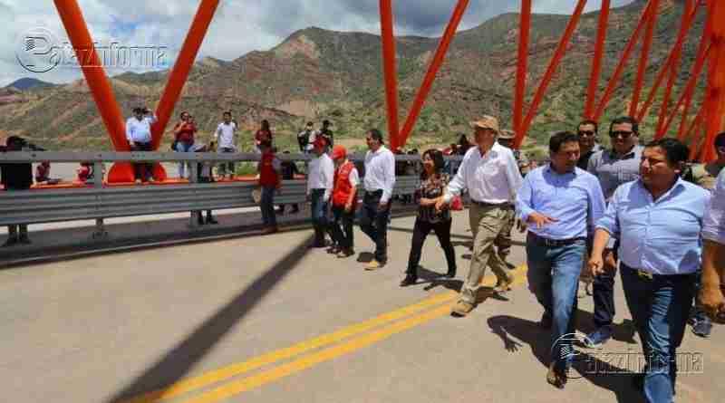 ANCASH | Presidente llega hoy para ver embalse de rio en Suchimán