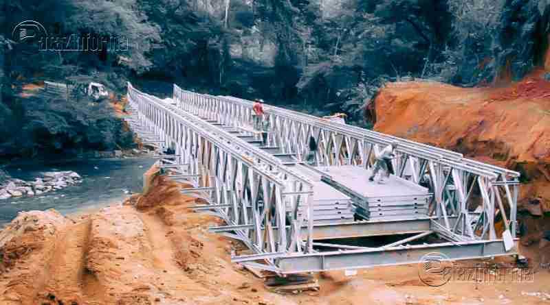 CHALLAS | Instalarán puente modular vía La Victoria, en Gasheragra