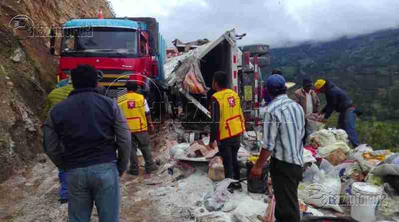 LA LIBERTAD | Accidentes de tránsito en la sierra dejaron 04 heridos