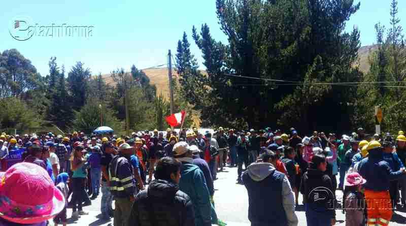 LA LIBERTAD | Bloquearán vía de acceso al ande liberteño por 48 horas