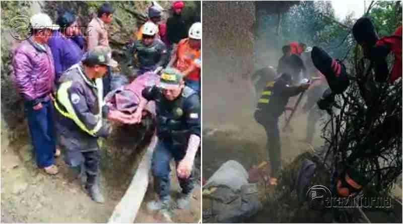 LA LIBERTAD | 02 niños fallecieron tras derrumbe de casa en la sierra