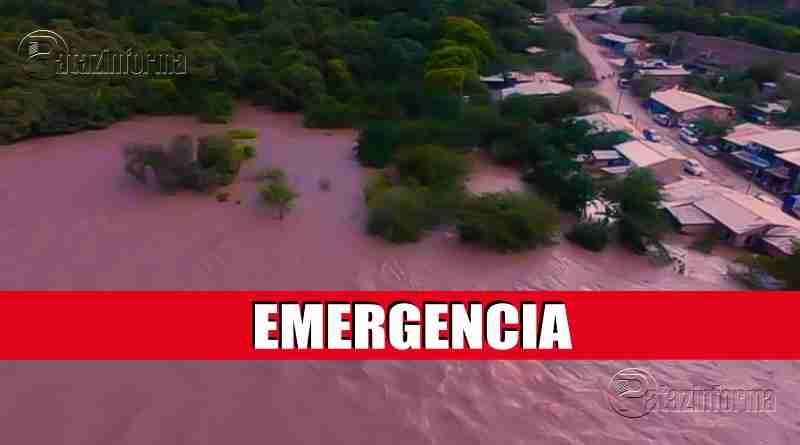 LA LIBERTAD | Pobladores en peligro por desborde del río Marañón