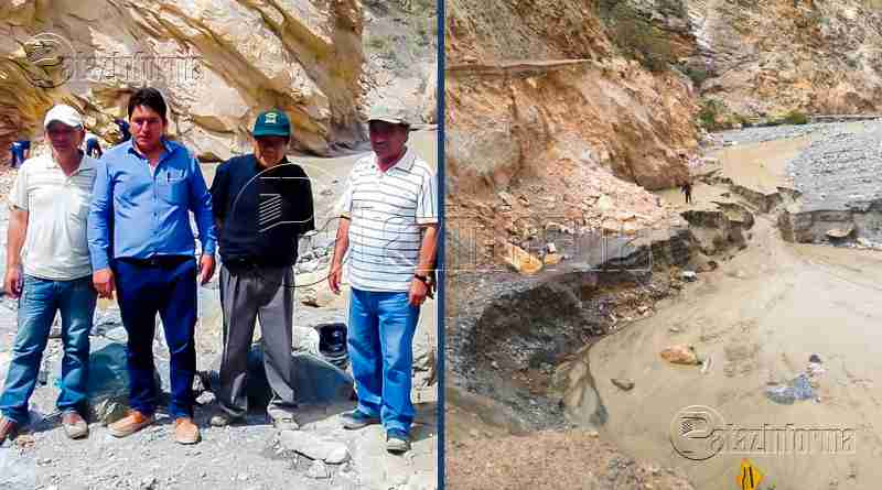 PATAZ | Autoridades buscan recuperar transitabilidad en vía Suchimán