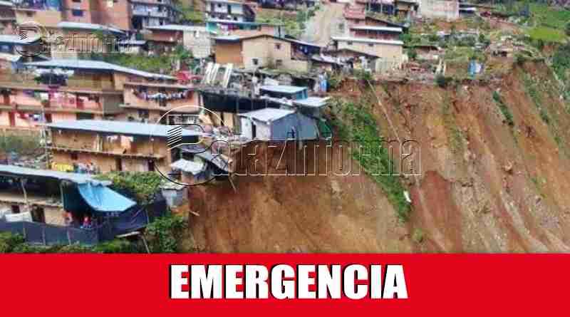 PATAZ | 13 DISTRITOS patacinos fueron declarados en EMERGENCIA