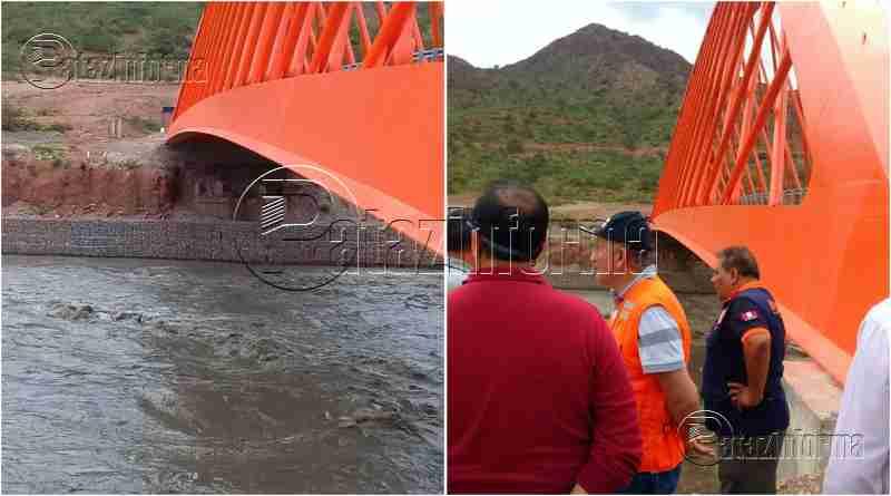 PATAZ | Puente Raimondi está bien protegido, sin riesgo de colapso