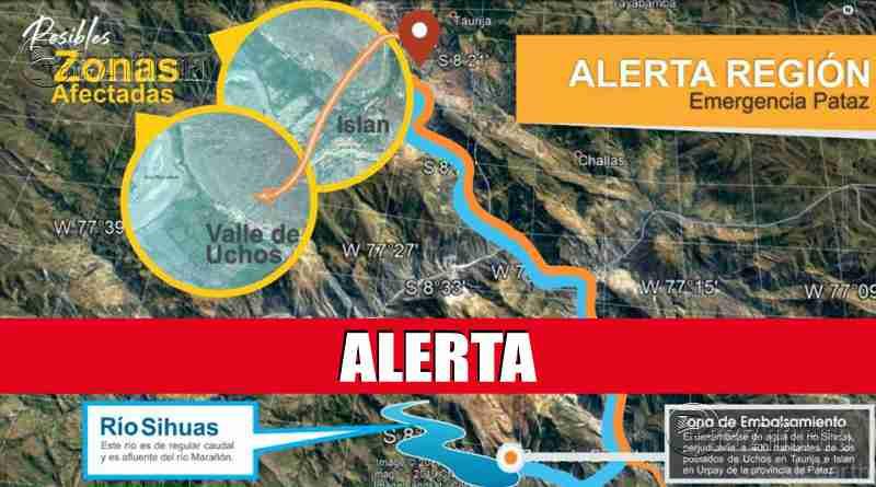 PATAZ | Represamiento de agua en Suchimán inició desbordamiento