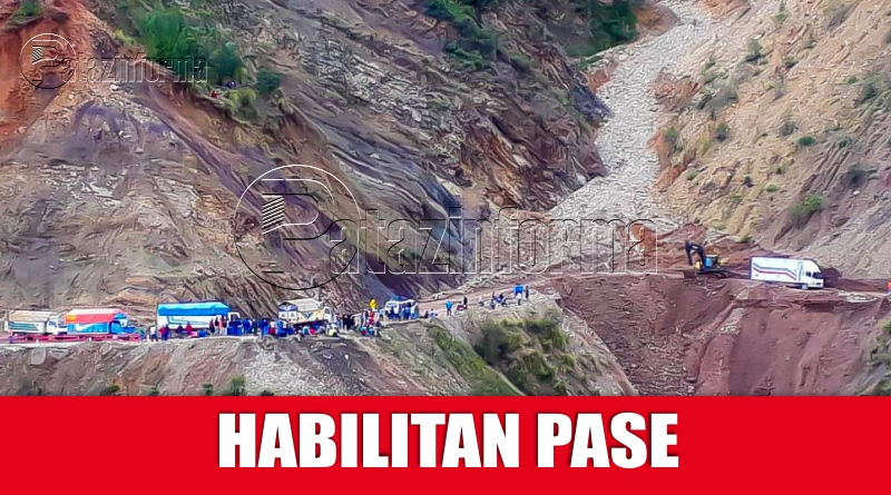 PATAZ | Restablecen pase en la carretera Huamachuco – Tayabamba