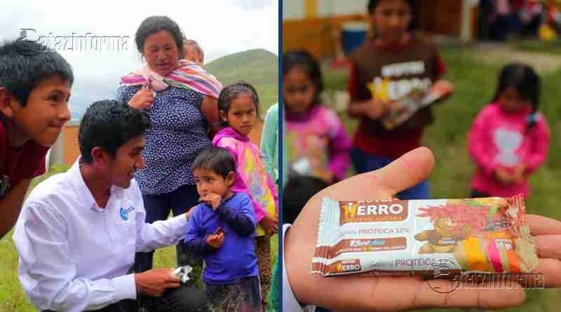 PERÚ | Ayacuchano crea galleta rica en hierro para combatir la anemia