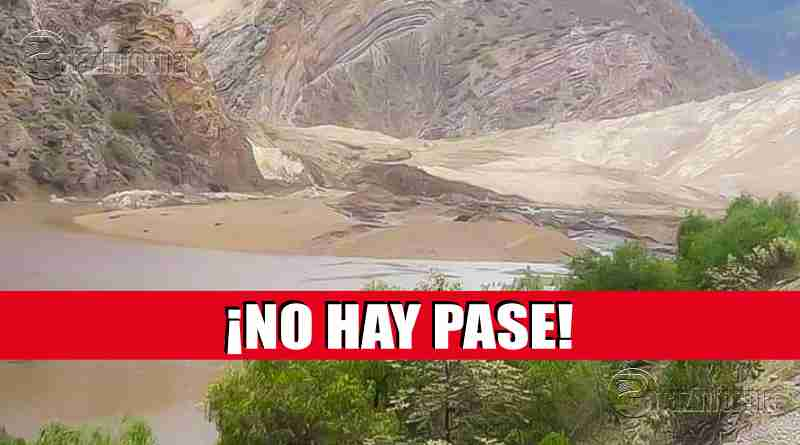 TAYABAMBA | Pase a la costa interrumpido por huayco en Suchimán