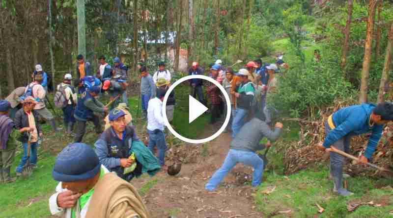 CHALLAS | Realizan república con trabajos de prevención de desastres