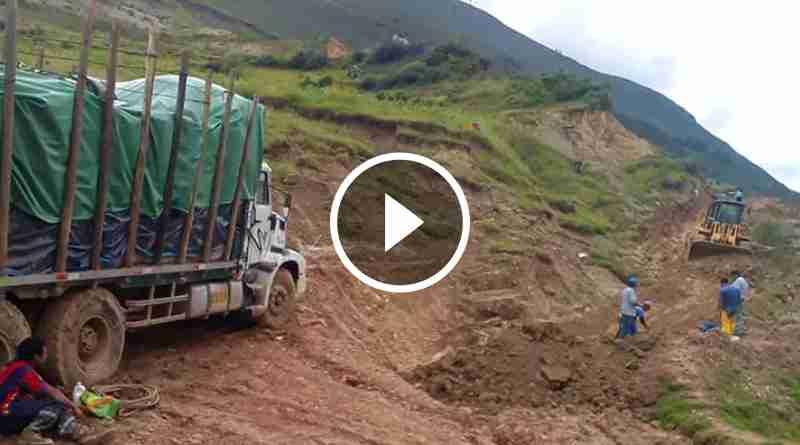 PATAZ | Lluvias ponen en jaque al distrito de Santiago de Challas