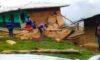 HUANCASPATA | Vivienda y colegio colapsaron por fuertes lluvias