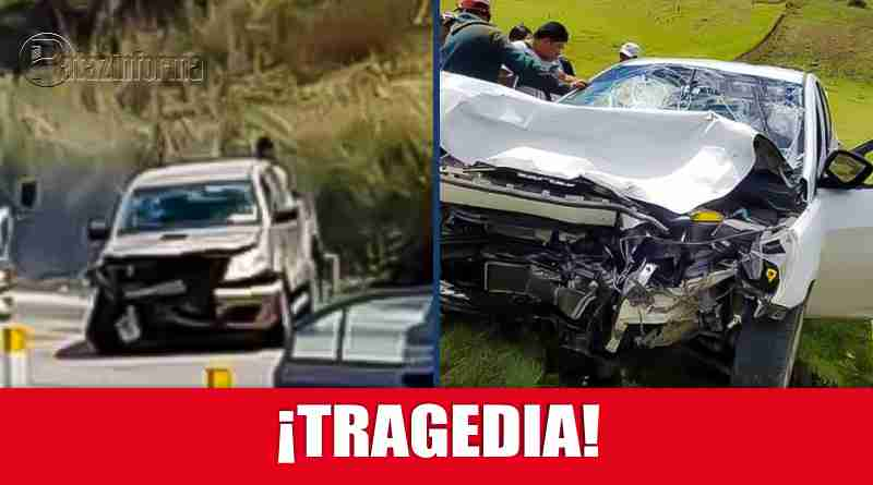 LA LIBERTAD | Accidente de tránsito dejó 4 heridos y un fallecido