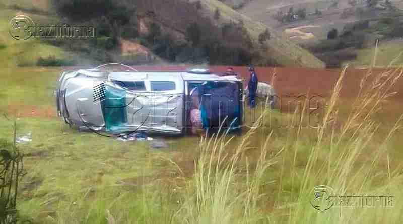 LA LIBERTAD | Trágico accidente tiño de sangre carretera del ande