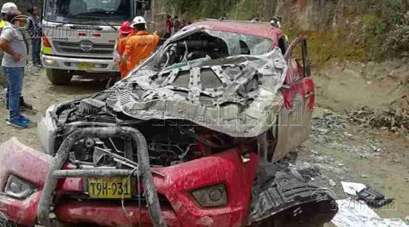 PARCOY | Aparatoso accidente de tránsito por MARSA deja 2 heridos