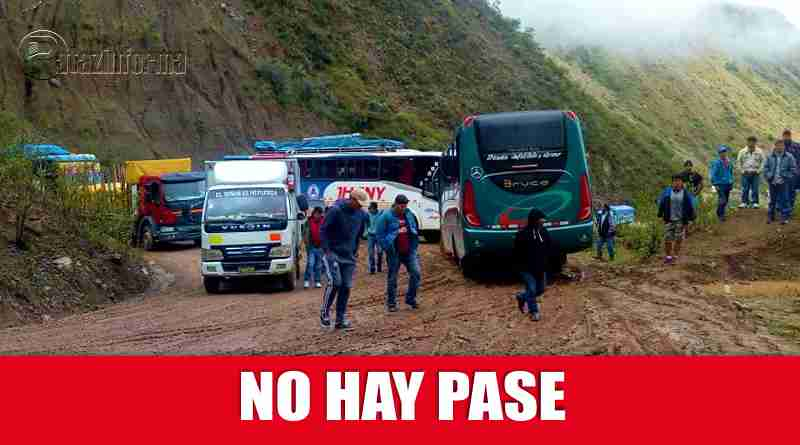 PATAZ | Pase interrumpido tramo Chagual – Retamas, sector Llaupa