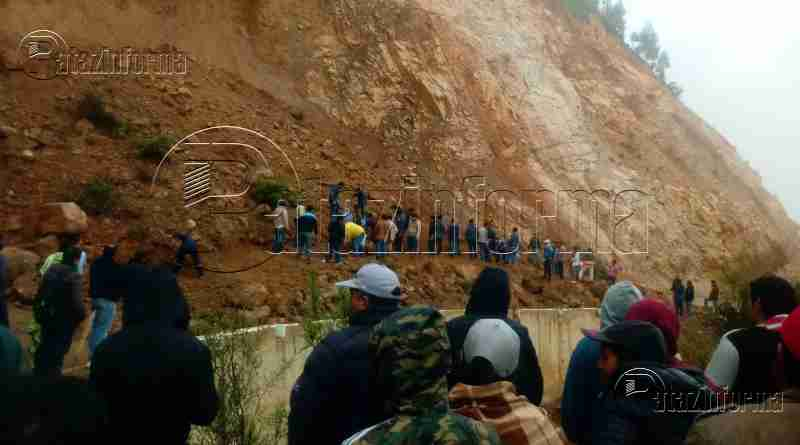 PATAZ | Pase interrumpido vía Trujillo – Tayabamba, sector Potrerillo