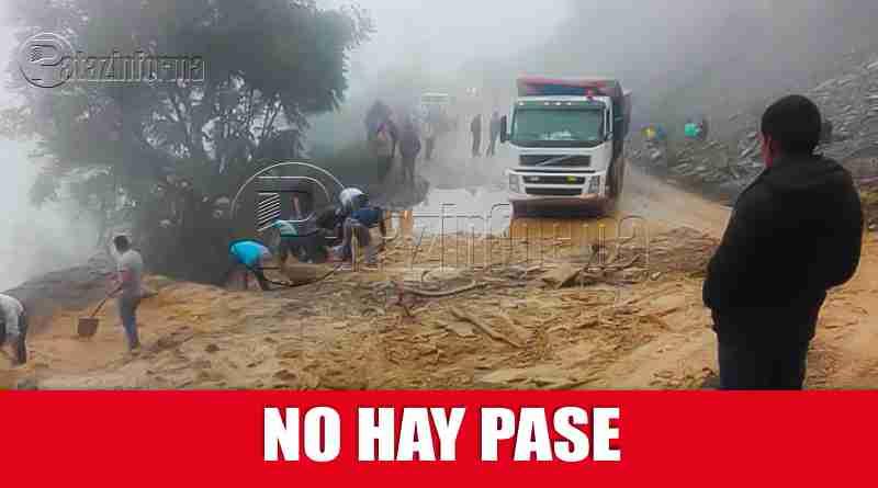 PATAZ | Pase interrumpido en la ruta Trujillo – Tayabamba y viceversa