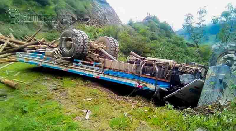 PATAZ | Trágico accidente de tránsito dejó una persona fallecida