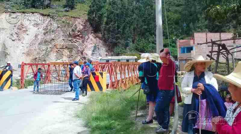 LA LIBERTAD | Restablecerán tránsito vehicular vía Trujillo – Pataz