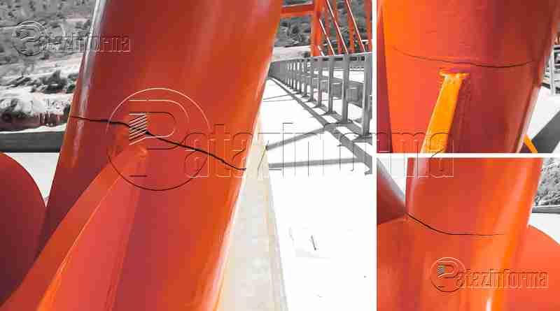 PATAZ | Estructura de Puente Antonio Raimondi con aberturas
